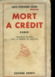 Mort A Credit. - Couverture - Format classique