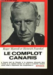 Le Complot Canaris - Couverture - Format classique