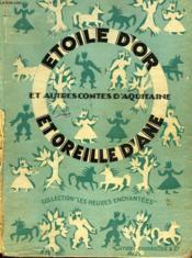 Etoile D'Or Et Oreille D'Ane - Couverture - Format classique