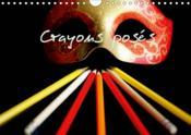 Crayons poses (calendrier mural 2019 din a4 horizontal) - calendrier pour des mois colores (calendri - Couverture - Format classique