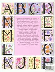 Alphabets Enlumines - 4ème de couverture - Format classique