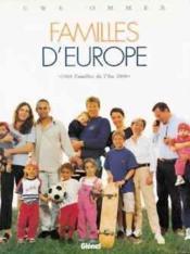 Familles d'europe ; 1000 familles de l'an 2000 t. - Couverture - Format classique
