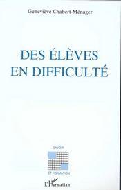 Eleves En Difficulte - Intérieur - Format classique