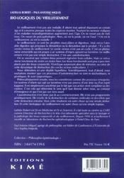 Bio-logiques du vieillissement - 4ème de couverture - Format classique