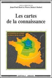 Les cartes de la connaissance - Couverture - Format classique