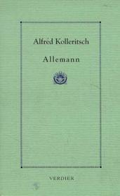 Allemann - Couverture - Format classique