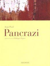 Jean-Paul Pancrazi - Intérieur - Format classique