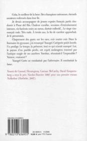 Mal tiempo - 4ème de couverture - Format classique