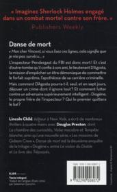 Danse de mort - 4ème de couverture - Format classique