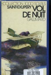 Vol De Nuit. Collection : 1 000 Soleils. - Couverture - Format classique