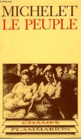 Le Peuple. Collection Champ N° 79 - Couverture - Format classique