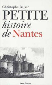 Petite Histoire De Nantes - Couverture - Format classique