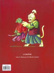 Chamourai Et Les 40 Rannins - 4ème de couverture - Format classique