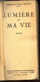 Lumiere De Ma Vie - Couverture - Format classique
