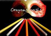 Crayons poses (calendrier mural 2019 din a3 horizontal) - calendrier pour des mois colores (calendri - Couverture - Format classique