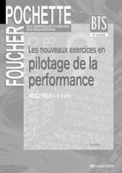 Les Nouveaux Exercices En Pilotage De La Performance - Couverture - Format classique