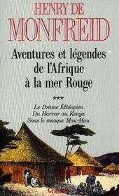 Aventures et légendes de l'Afrique à la mer rouge t.3 - Couverture - Format classique