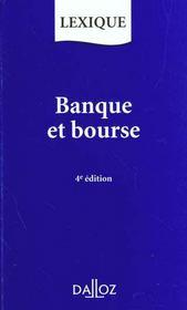 Banque Et Bourse - Intérieur - Format classique