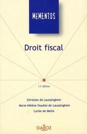 Droit Fiscal - Intérieur - Format classique