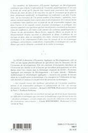 Exclusion Croissance Et Developpement ; La Guadeloupe Entre Defis Incertitudes Et Espoirs - 4ème de couverture - Format classique
