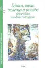 Sciences savoirs modernes - Couverture - Format classique
