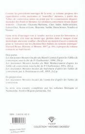 Les Anciennes Mesures Locales Du Centre-Ouest, D'Apres Les Tables De Conversion - 4ème de couverture - Format classique
