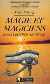 Magie Et Magiciens Egypte - Couverture - Format classique