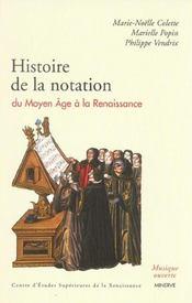 Histoire De La Notation Musicale Du Moyen Age... - Intérieur - Format classique