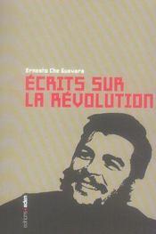 Écrits sur la Révolution ; anthologie - Intérieur - Format classique