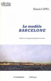 Le modèle Barcelone - Couverture - Format classique