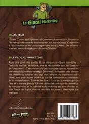 Le glocal marketing - 4ème de couverture - Format classique
