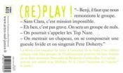 (re)play ! - 4ème de couverture - Format classique