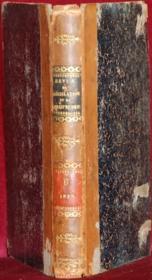 REVUE DE LÉGISLATION ET DE JURISPRUDENCE publiée sous la direction de L. W., par une réunion de magistrats, de professeurs et d'avocats français et étrangers; seulement t. VI (avril - septembre 1837) - Couverture - Format classique