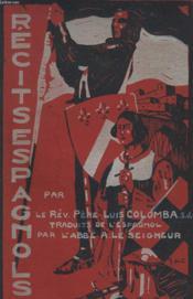 Recits Espagnols - Couverture - Format classique
