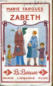 Zabeth - Couverture - Format classique