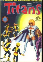 Titans - Album N°25 - Mensuel N° 73 Et N° 74 - Couverture - Format classique