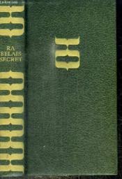 Rabelais Secret - Une Religion De La Joie - Couverture - Format classique