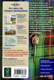 Ecosse (7e édition) - 4ème de couverture - Format classique