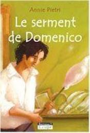 Le serment de Domenico - Couverture - Format classique