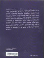 La Republique Livre Ii Platon - 4ème de couverture - Format classique