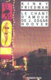 Le Chant D'Amour De J. Edgar Hoover - Intérieur - Format classique