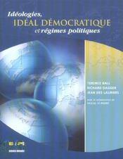 Idéologies, idéal démocratique et régimes politiques - Intérieur - Format classique