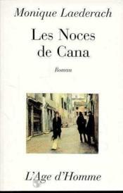 Les Noces De Cana - Couverture - Format classique