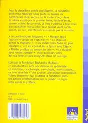 Santé : 100 idees reçues ; l'avis des chercheurs - 4ème de couverture - Format classique