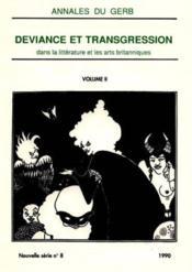 Deviance & Trangression 2 - Couverture - Format classique