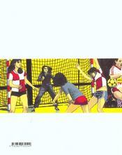 Handball - 4ème de couverture - Format classique