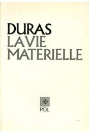 La vie matérielle - Couverture - Format classique