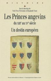 Les princes angevins du XIII au XV siècle ; un destin européen - Couverture - Format classique