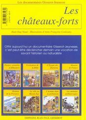 Les châteaux forts - 4ème de couverture - Format classique