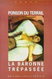 La baronne trepassee - Couverture - Format classique